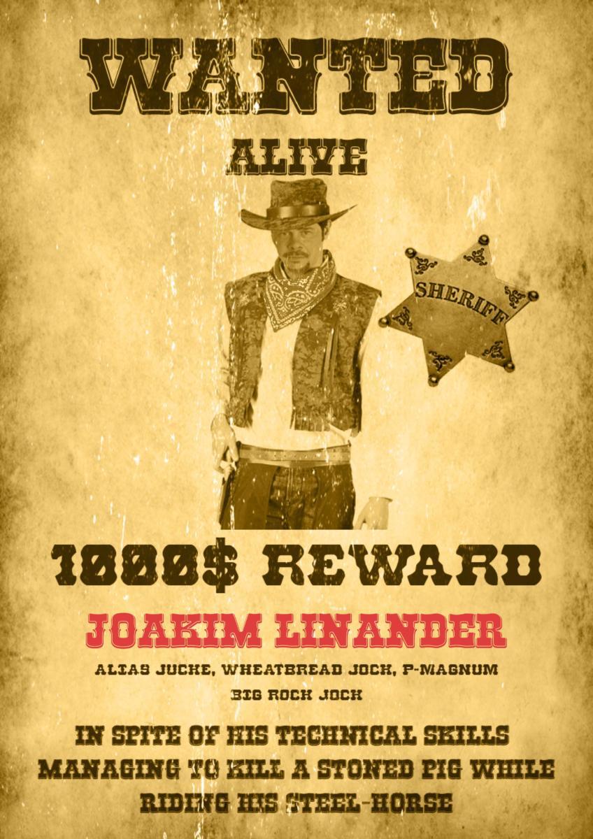 Wanted Joakim L2